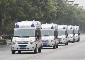 市内救护车转院出院